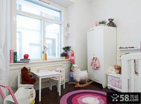 55平方米小户型儿童房装修效果图大全2013图片