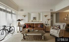 美式装饰风格客厅效果图