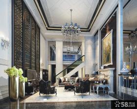 三室两厅新古典客厅吊顶装修效果图大全2014图片