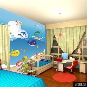 儿童卧室图片 儿童房背景墙装修效果图大全2012图片