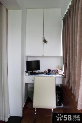 小户型阳台书房装修设计
