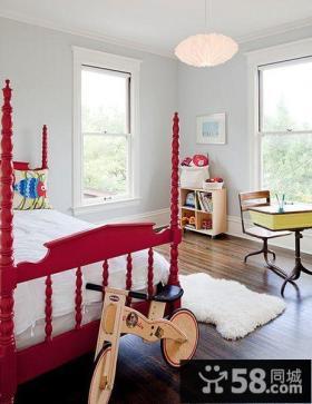 双层儿童房效果图 小户型儿童房装修图