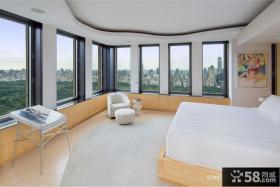 现代简约复式楼装修效果图 复式卧室楼装修样板间