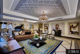 经典欧式风格别墅室内装修效果图大全