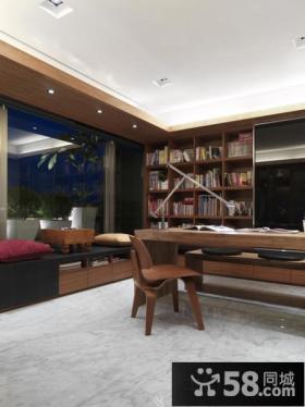美式风格书房装修效果图片大全欣赏