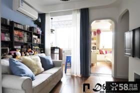 简约小户型客厅装修设计图