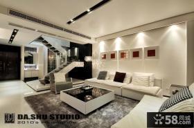 时尚精简现代复式家居装修案例