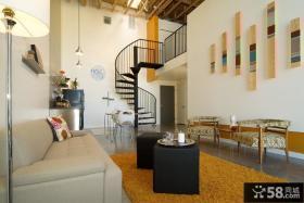 复式楼小客厅装修效果图欣赏