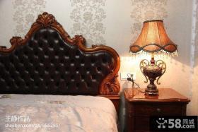 美式卧室壁纸装修效果图大全2013图片