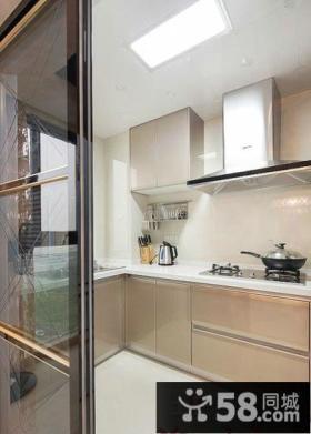 宜家设计厨房吊顶效果图欣赏