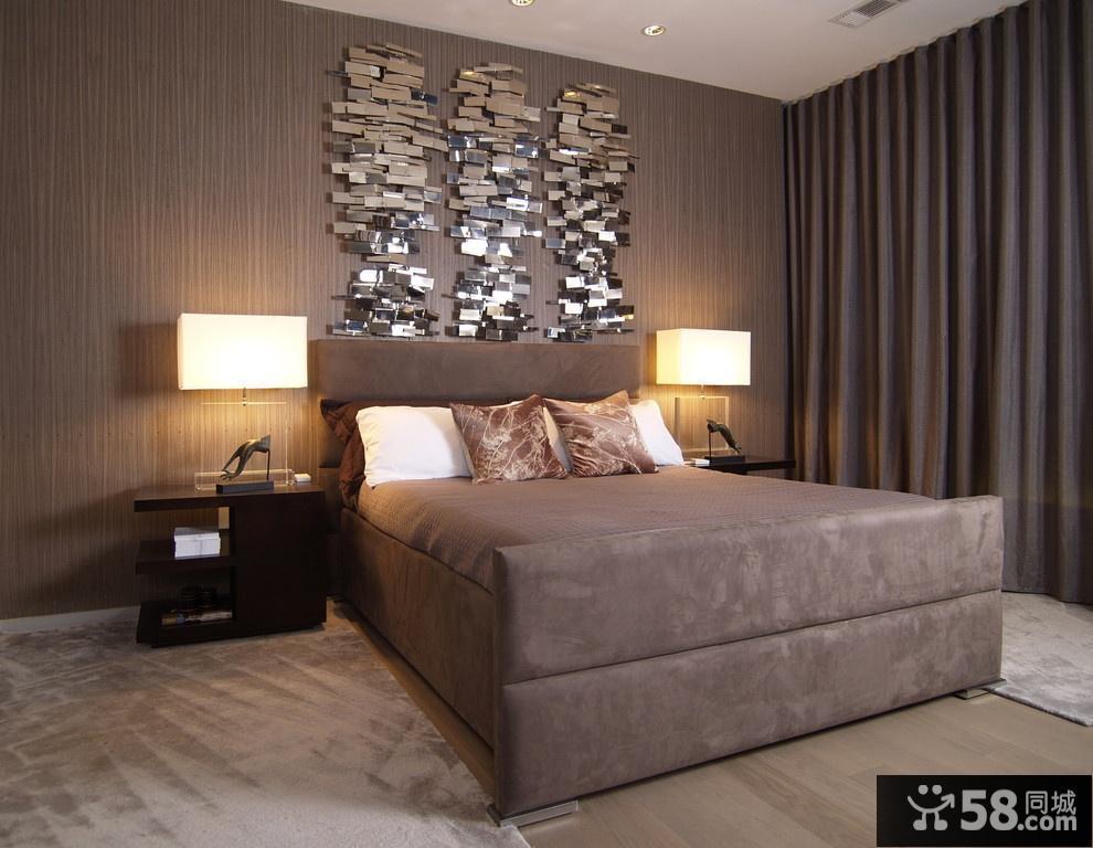欧式卧室背景墙效果图