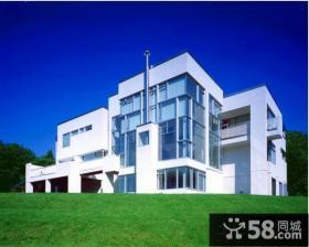 现代别墅外观设计效果图