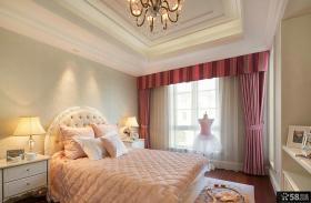 现代欧式女孩卧室设计图大全