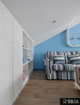 美式别墅家庭阁楼设计图片