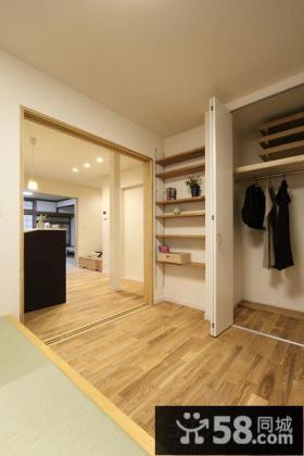 室内木地板效果图
