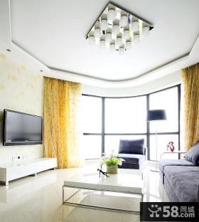 北欧设计精装修客厅电视背景墙效果图大全