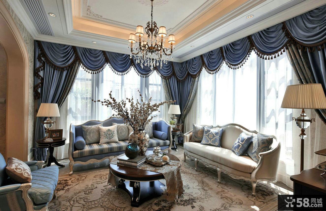 欧式风格高档装修别墅室内设计图