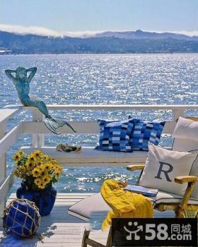 地中海豪华阳台设计图片