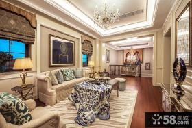 现代欧式120平米三室两厅装修效果图大全