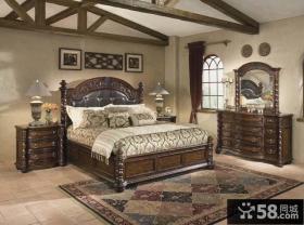 主卧室欧式古典家具图片