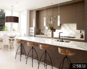 2012别墅厨房效果图片