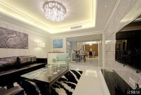 97平米现代风格装修两室一厅效果图大全