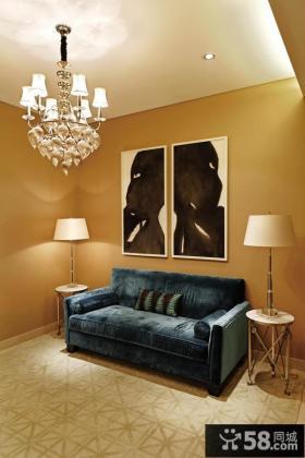 美式新古典风格吊顶图片