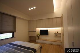 简约设计小卧室电视背景墙大全