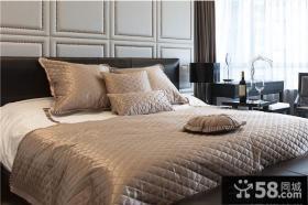 家装卧室双人床图片
