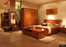 新中式卧室大全设计