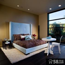 卧室床头背景墙装修效果图大全2012图片