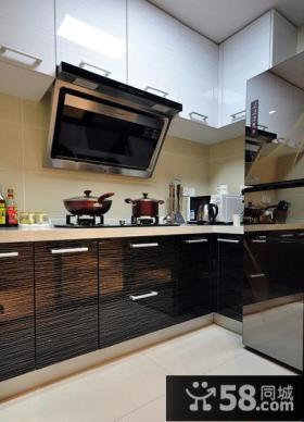 简约现代设计复式家居厨房装修效果图