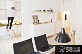 80平米小户型清新之家客厅装修效果图大全2012图片