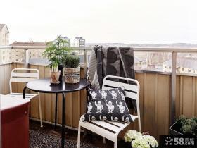 北欧风格休闲阳台