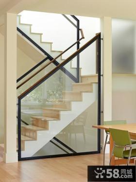 简约现代家装设计楼梯图片大全