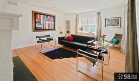 美式风格装修样板间 美式风格装修客厅图片