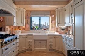 开放式厨房整体橱柜效果图欣赏