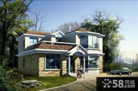 欧式两层小别墅设计图
