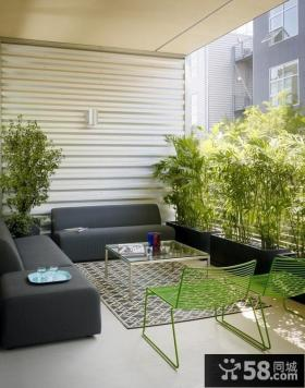 90平米房屋阳台装修效果图