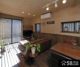 美式乡村风格30平米一居室小户型装修效果图