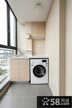 阳台洗衣房设计