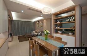 现代简约时尚装修 客厅沙发背景墙图片
