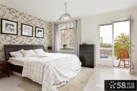 80平小户型装修案例温馨的卧室