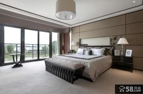 新古典风格别墅卧室装修效果图