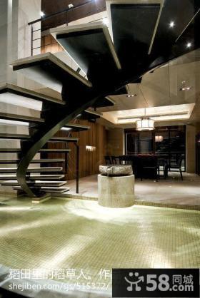 二层别墅楼梯设计图