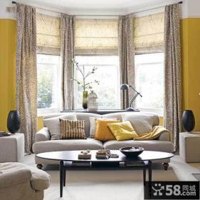 家装设计客厅飘窗效果图