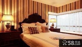 古典欧式家居壁纸卧室效果图片