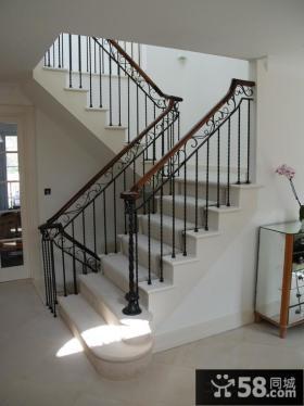 室内楼梯扶手图片