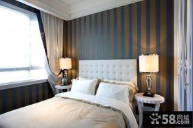 简欧式风格次卧室背景墙装修效果图