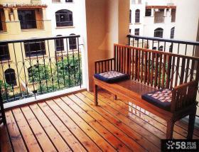 木地板阳台装修效果图